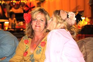 Linda and moi