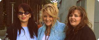 Pamela, me & tricia