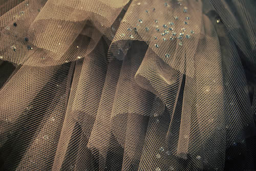 Glittery petticoat