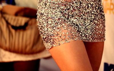 Sparkly skirt