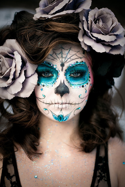Blue halloween